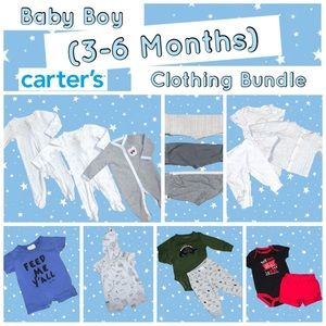 Baby Boy (3-6 Months) Clothing Bundle